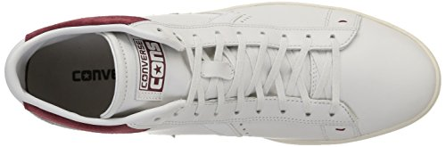 Converse Pro Leather Lp Mid Leather -  para hombre White Dust/Maroon