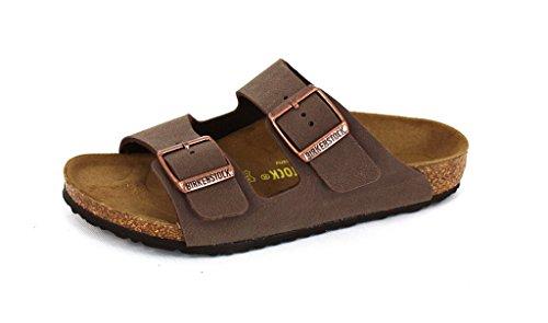 Birkenstock Unisex-Child Arizona Kids Mocca Birkibuc Sandals 28.0 N EU N 552893