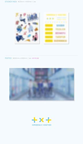 Bighit Tomorrow X Together TXT - The Dream Chapter : Star 1CD+80p Photobook+3Photocards+2Sticker Pack+Folded Poster+Double Side Extra Photocards Set