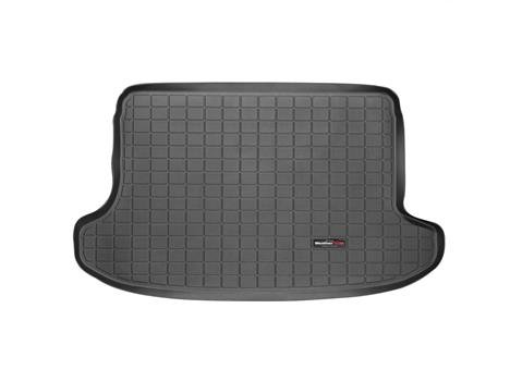 2013-2015 Subaru BRZ Black Weathertech Cargo Liner (Does not fit models with trunk-mounted subwoofer)