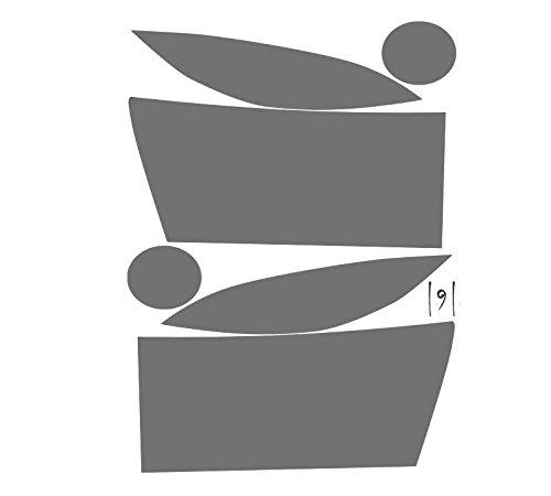 (Subject 9 - Fits: Ram Pre-cut vinyl overlay Headlight PLUS tint (2006 2007 2008) LIGHT)