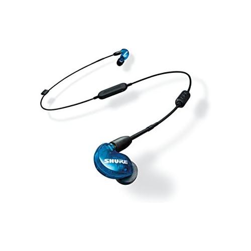 chollos oferta descuentos barato Shure SE215SPE B BT1 EFS Auriculares inalámbricos con aislamiento de sonido