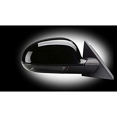 LED Side Mirror Black Smoke Turn Signals Marker Light For VW GTI Jetta MK5 Passat B6: Automotive