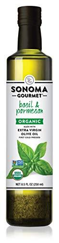 Basil & Parmesan Organic Olive Oil