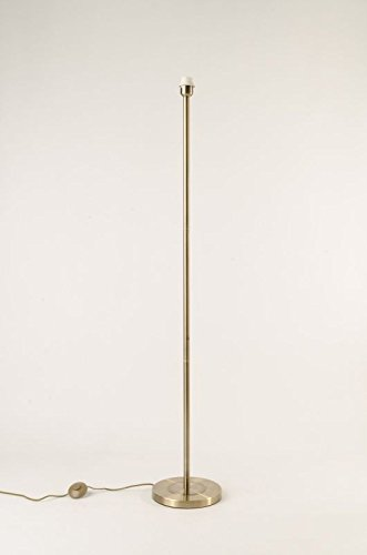 Cotterell Co Belford Antique Brass Floor Lamp Base Only