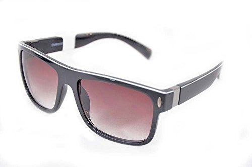 Chili's Eye Gear Sunglasses Tonic Shiny Black Grey Polarized Lens (Chilis Sunglasses compare prices)