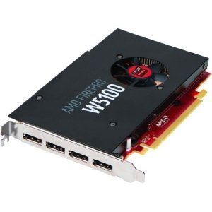 AMD FirePro W5100 Graphic Card - 930 MHz Core - 4 GB GDDR5 SDRAM - PCI Express 3.0 - Half-length/Full-height - 4096 x 2160 - Fan Cooler - OpenGL 4.4, OpenCL 1.2, DirectX 12 - DisplayPort - 100-505737 by Generic