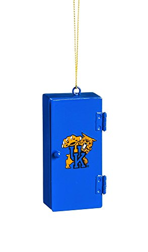 Kentucky Wildcats Ornaments - Team Sports America Kentucky Wildcats Team Locker Ornament