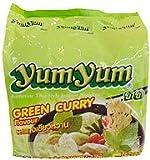 トムヤムインスタントラーメン グリーンカレー味 ヤムヤムYUMYUM GREEN CURRY 5個入り