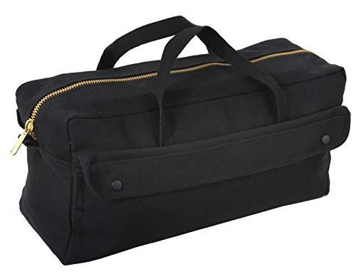 Brass Zipper Mechanics Tool Bag - Rothco Canvas Jumbo Tool Bag