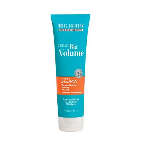 Marc Anthony Dream Big Volume Volumizing Shampoo, 8.4 Fluid Ounces (Shampoo Thick Marc Anthony Instantly)