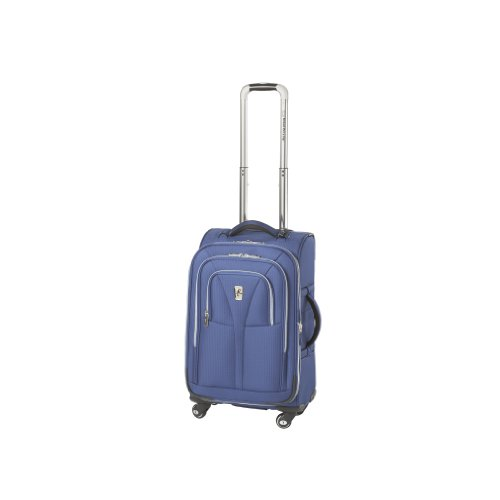 Atlantic Luggage Compass Unite 21 Inches Expandable Upright Spinner Suiter, Blue, One Size