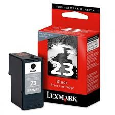 Lexmark Genuine Brand Name, OEM 18C1523 No. 23 (Lexmark #23) Black Inkjet Cartridge Return Program for X3530, X3550, X4530, X4550, Z1410, Z1420 Printers