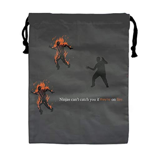 (Drawstring Bag Beam Mouth Gym Bags for Men and Women (Humor)