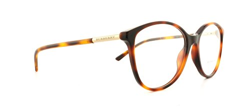 Burberry BE2128 Eyeglass Frames 3316-5216 - Havana BE2128-3316-52