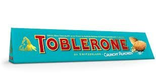 Almond Salted Candy - Toblerone Crunchy Salted Almond