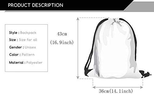 Drawstring Backpack Watercolor Camel Cactus Bag Water Resistant Lightweight Gym Sackpack For Hiking Yoga Gym Swimming Travel Beach