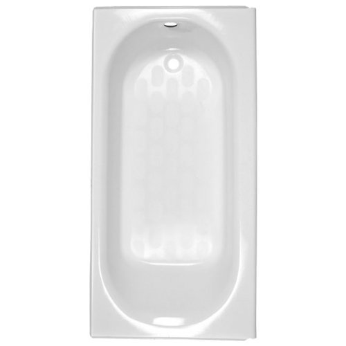 American Standard 2392.202ICH.020 Princeton Recess 5-Feet Left-Hand Drain Americast Bath Tub with Integral Overflow, White