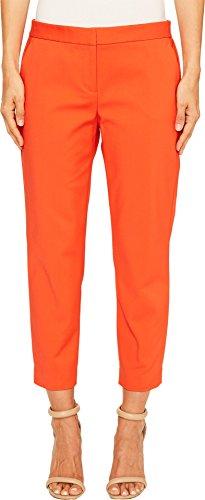 Vince Camuto Womens Front Zip Crop Pants Red Hot 0 24 24 (Pant Crop Zip)