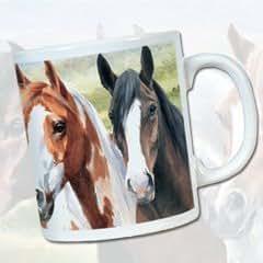 """Mezclado caballos """"Crazy Horses""""–Ovillo de taza"""