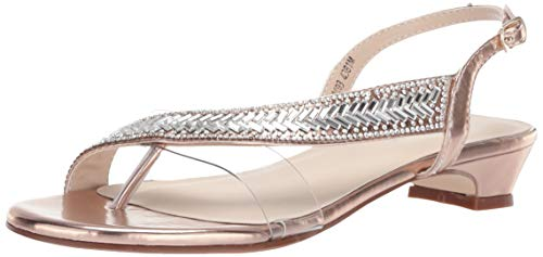 - Touch Ups Women's Eleanor Sandal, Rose Gold, 8 M US