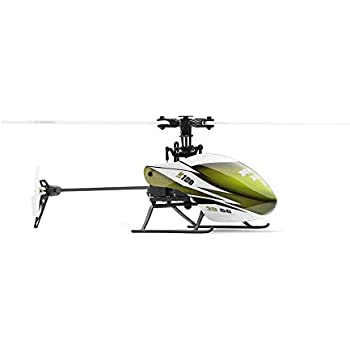 Wotryit XK K100 6CH 3D 6G System RTF RC Helicopter Built-in Gyro Super Stable Flight Green Outdoor Kids