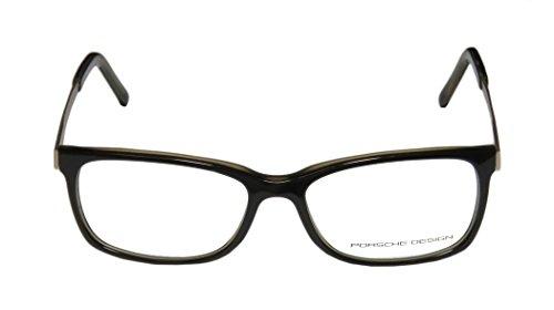 Mens/Womens Designer Full-rim Eyeglasses/Eyeglass Frame (53-15-140, Pine Pattern / Matte Gold) (Pine Rim)