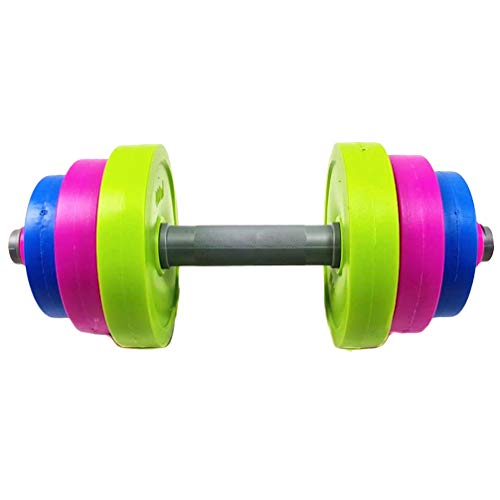 Wakauto 1 Set Dumbbell Weights Kids Exercise Weights Hand Fitness Barbell For Weight Loss Healthy Exercise Body Building…