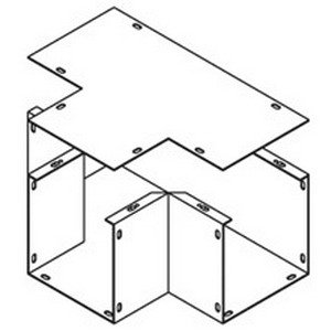 - Cooper B-Line 64T Tee For Lay-In Wireway 6 Inch x 4 Inch
