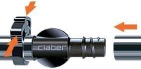 """ANELLO STRINGITUBO PER TUBO 1//2/"""" IRRIGAZIONE GIARDINO CLABER 99096 pz.30"""