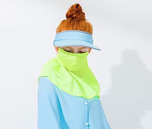 0a9720a3e HOII Anti-UV Classic Wide-Rim Sun Visor Hat UPF 50+ One-Size (Blue)