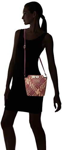 SWANKYSWANS Shoulder Leather Womens Purple Body Purple Weave Cross Purple Pu Bag Bag Sally HrXqH