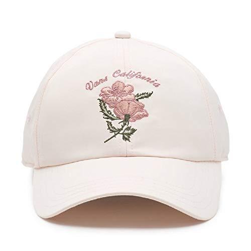 Vans California Souvenir Satin Embroidered Baseball Hat - Soft Pink
