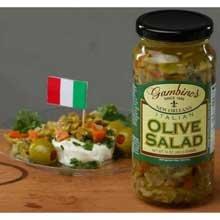 Gambinos Italian Olive Salad, 1 Gallon -- 4 per case.