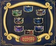 (Disney Theme Park Exclusive - Fantasyland Dumbo Limited Edition Pin Set of 8 - Le 750 & Le 1500)