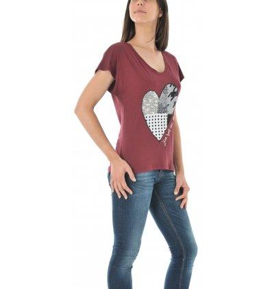 Desigual TS/_beget T-Shirt Donna