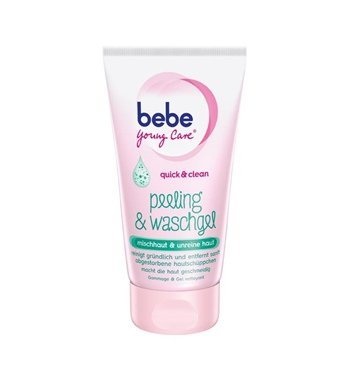 Bebe Young Care Quick & Clean Face Peeling & Cleansing Gel -150 ml - by Bebe Young - Care Young Bebe