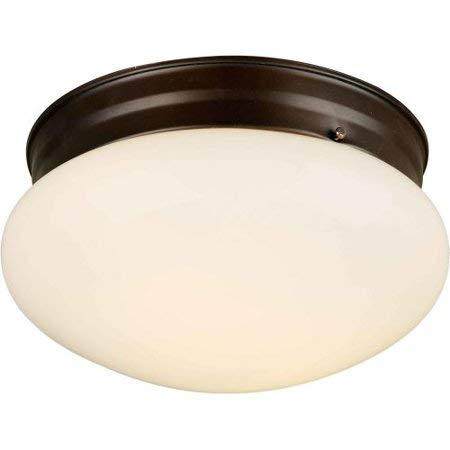 (2-Pack) Forte Lighting Functional Flushmount Ceiling Fixture from the Close to Ceiling Collection
