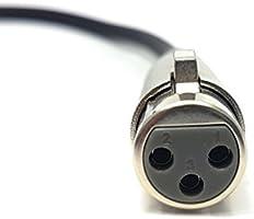 Instrumental Compatible con amplificadores ragai XLR macho a XLR hembra Cable de micr/ófono Altavoces y otros profesionales de grabaci/ón disponible en 0,5/m, 1/m, 2/m, 3/m, 5/m, 6/m, 10/m Mixer