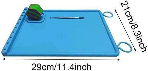 Vitakiwi 5 Nonstick Silicone Wax Baking Mat Heat Resistant Sheet Oven Pad Pastry