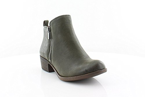 Lucky Basel Women's Brand Dark Boot Green araZwHW7q