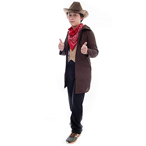 Boo! Inc. Ride 'em Cowboy Halloween Costume | Boys Dress Up (10-12)