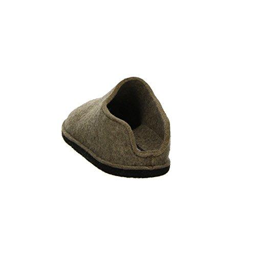 Haflinger Unisex-Erwachsene Smily Pantoffeln Braun