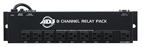 Relay Pack 8 Channel - ADJ Products Stage Light Accessory SRP8