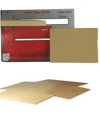 50 x Rápido Pack C5 / A5 Letra Grande Correo Real precio en proporción (PiP
