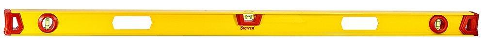 Starrett KLIS48-N Aluminum I-beam Level with 3 Plastic 360° Vials, 48'' Length by Starrett