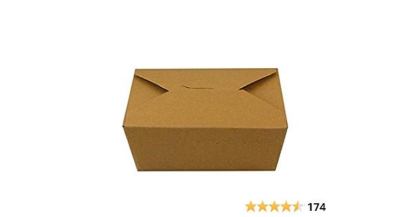 Kraft Inno-Pak 191368623#8 Inno-Box Pack of 130 Pack 6 x 4.75 x 2.5 2-