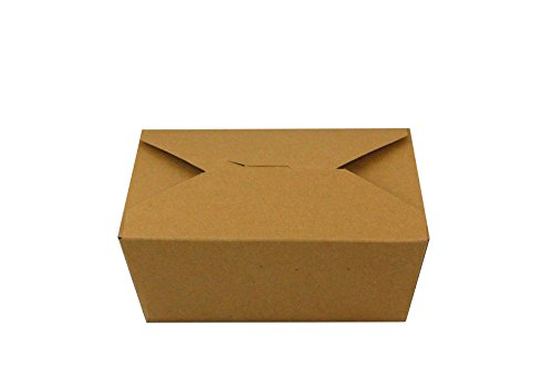 To Go Boxes (Inno-Pak 191368623#8 Inno-Box, Kraft, 6