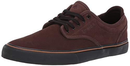 - Emerica Men's Wino G6 Skate Shoe Brown/Black/TAN 14.0 Medium US