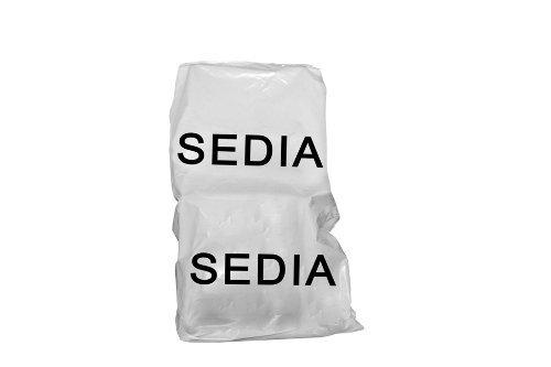 cm 120 x 130 Simba Paper Design srl 24 Sacchi coprisedia//poltroncina Ufficio in Nylon Resistente x trasloco//conservare Mis
